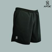 XPDC Training Short Black - Celana Pendek Olahraga Multifungsi Hitam