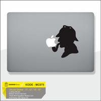 Decal Sticker Macbook Sticker Laptop Aksesoris Macbook Smooking