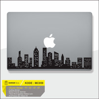Decal Sticker Macbook Sticker Laptop Aksesoris Macbook Buliding