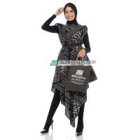 long dress oversize tunik tenun terbaru baju muslim kekinian