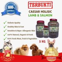 Makanan Anjing / Dog Food Caesar Natural Holistic Lamb & Salmon 5kg