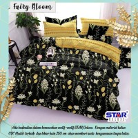 Sprei Katun Star Terbaru Fair Bloom 180x200x30
