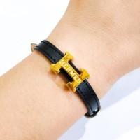 Gelang Branded Keren Gaul Jaman Now Emas Asli model Jam Watch
