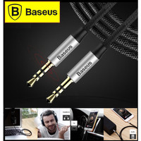 BASEUS Kabel Aux Audio Yiven Cable Braided Plated Mini jack 3.5mm 1 M