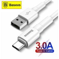BASEUS Kabel Data Type C Fast Charging 3A 1M - White