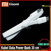 Fast Charging Kabel data power bank xiaomi 30 cm ORI 100% pendek