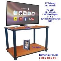 Rak TV Minimalis Cherry 2 Susun ( RS2-4060 ), Rak TV Murah, Meja TV