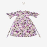 Baju Gamis Anak Baby Malika Aysa Chinese Purple Peony Baby Hijab Dress