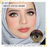 Softlens Sweety Spatax by Sweety Plus Lens Brown - Coklat