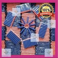 10 Pcs Peluru Nerf Darts Refill Blue With Orange Tip