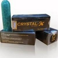 NCX Crystal X ORI Cristal X ASLI Kristal X NASA- Masalah Kewanitaan