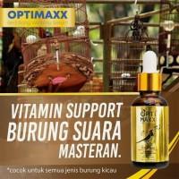 OPTIMAXX- Vitamin Burung Kicau Lovebird - Murai - Murai Batu / Vitamin