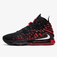 Sepatu Basket Nike Lebron 17 Infrared Original BQ3177-006
