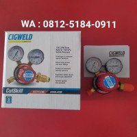 Regulator Acetylene Cigweld CutSkill 251 Acet 150 kPa Part No : 201034
