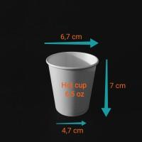 paper cup 6,5oz.