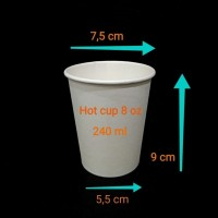 paper cup 8oz/240ml polos.