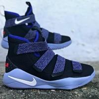 Sepatu Basket x Nike Lebron 11 Soldier Glacier Grey Premium Quality