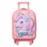 smuggle junior trolley travel bag tas ransel perempuan
