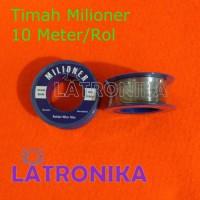 Timah Solder Milioner 10 Meter Timah Milioner 10M 10 M 60/40% 0.8mm