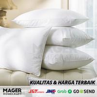 MH - Bantal Tidur Hotel Silikon GRADE A / Bantal Tidur Kepala