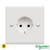 Schneider Stop Kontak E426 Classic Clipsal Socket Schuko Arde E426/16S
