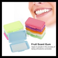 Terlaris!! Alicedental Dental Wax Ortho Fruit Scent Braces Orthodontic