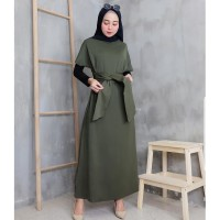 Wilona Dress l Gamis Maxi l Maxy l Fashion RemaJa Muslim Terlaris