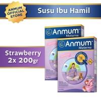 Anmum Materna Strawberry White Choco 200gr - 2 Pcs