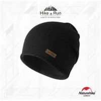 NH Knitted Hat Wool Beanie NH17M020-Z Black