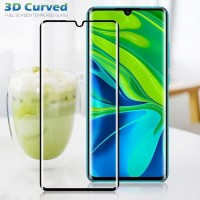 Tempered Glass Full Melengkung 3D Xiaomi MI Note 10 Pro