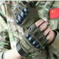 Sarung Tangan Sepeda Motor Military Tactical Half Glove / Army Gloves