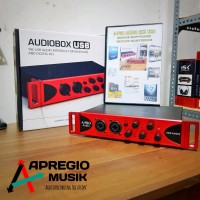 Soundcard A-Pro Audio 2x2 USB with MIDI in out dan phantom power