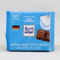 RITTER SPORT CHOCO MILK ALPINE 100 GR
