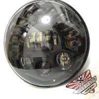 Headlamp Lampu Depan Daymaker 7 inch Cocok Buat Honda Tiger Yamaha Sco