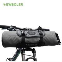 NEWBOLER Bike Front Tube Bag Waterproof Bicycle Handlebar Basket Pa