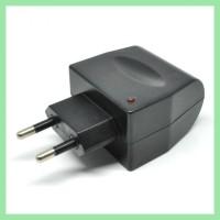 Grosir Adaptor Acdc Car Charger Switch 12V 500 Ma Eu Plug Black
