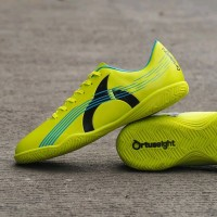 Sepatu Futsal Ortuseight Horizon In Fluo Green Original tools