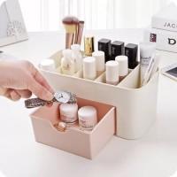 Rak kosmetik plastik dengan laci / Storage Box