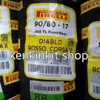 BAN PIRELLI 90/80 -17 DIABLO ROSSO CORSA II - SOFT COMPOUND RACING