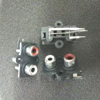 Soket RCA 2 Pin tancap