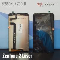 LCD Layar Tampilan Asus Zenfone 2 Laser ZE550KL Z00LD + TC / Sentuh