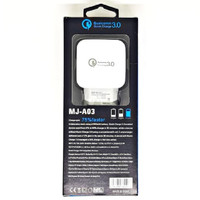 SKU-1127 CHARGER USB QUALCOMM 3A MUJU MJ-A03 WALL CHARGING CAS MJA03