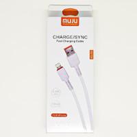 SKU-1115 KABEL USB LIGHTNING 1 METER MUJU MJ-83 FOR APPLE IPHONE MJ83