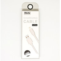 SKU-1112 KABEL USB LIGHTNING 1 METER MUJU MJ-55 FOR APPLE IPHONE MJ55