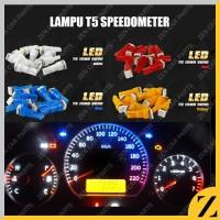 Lampu LED T5 Speedometer COB Speed Panel Mobil Motor Dashboard TERANG - Kuning
