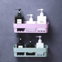 [KQ06] Rak Kamar mandi tanpa paku model persegi panjang