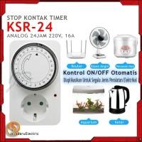 Stop Kontak Timer Analog KAISER 24 Jam