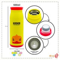 Termos Air Animal karakter 500ml - Botol Minum RANDOM/ACAK