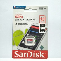 SANDISK ULTRA MICROSD 64GB 100MB/S CLASS 10 - MICRO SD 64 GB 100 MBPS