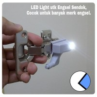 Lampu LED untuk Engsel Sendok dengan Baterai